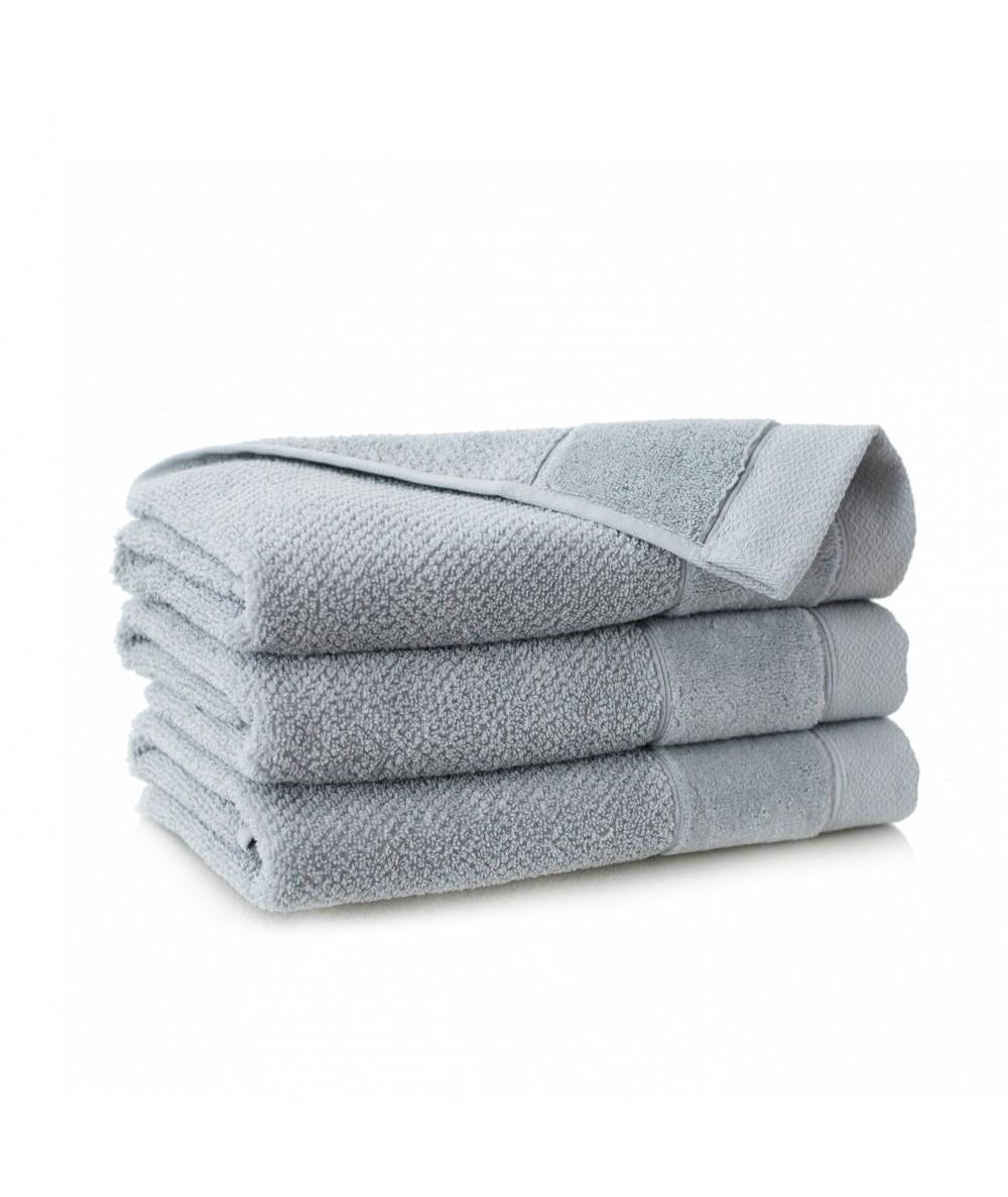 Ręcznik Zwoltex Smooth bawełna 30x50 jasnografitowy