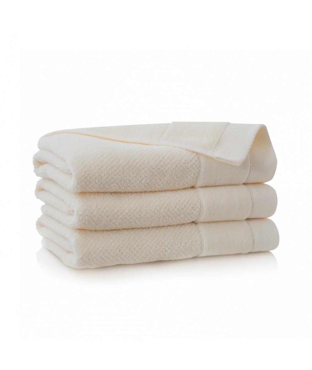 Ręcznik Zwoltex Smooth bawełna 30x50 ecru