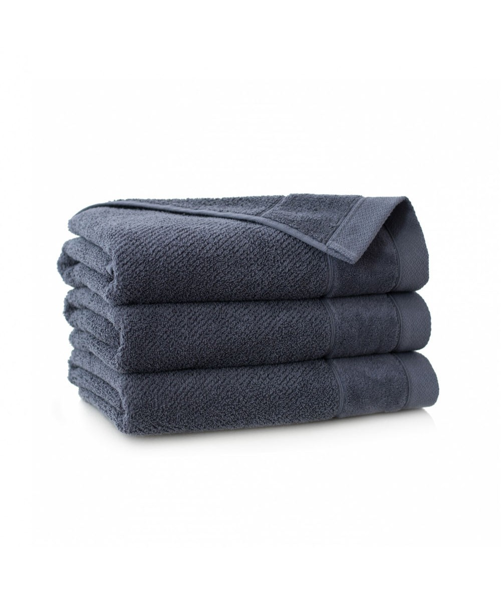 Ręcznik Zwoltex Smooth bawełna 30x50 grafitowy
