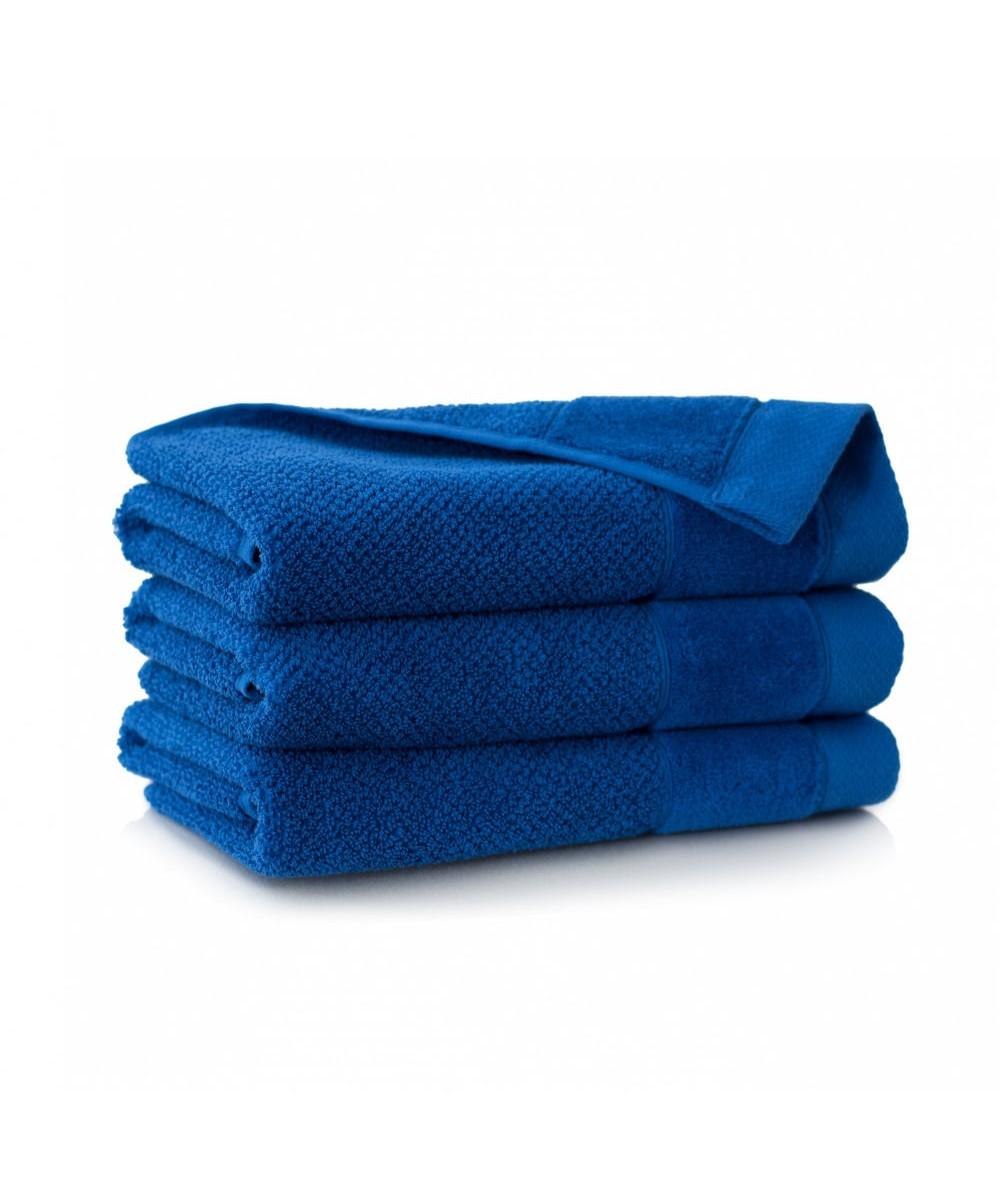 Ręcznik Zwoltex Smooth bawełna 30x50 chabrowy