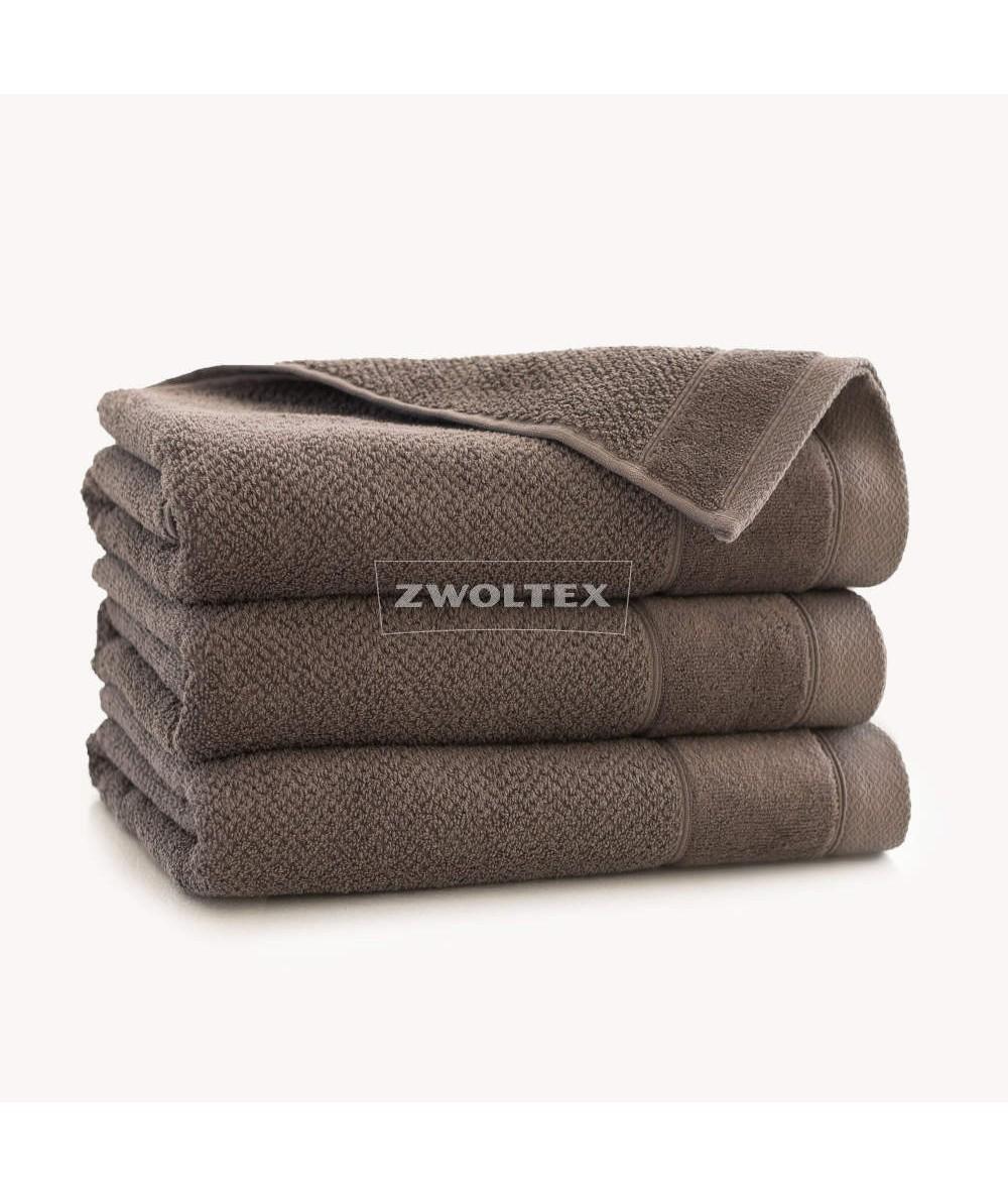 Ręcznik Zwoltex Smooth bawełna 30x50 taupe