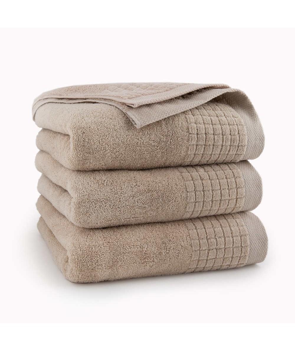 Ręcznik Zwoltex Paulo bawełna 30x50 beżowy