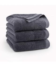 Ręcznik Zwoltex Paulo bawełna 70x140 grafitowy