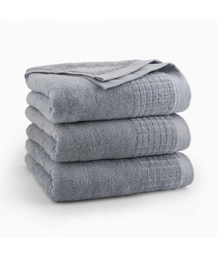 Ręcznik Zwoltex Paulo bawełna 70x140 jasnografitowy