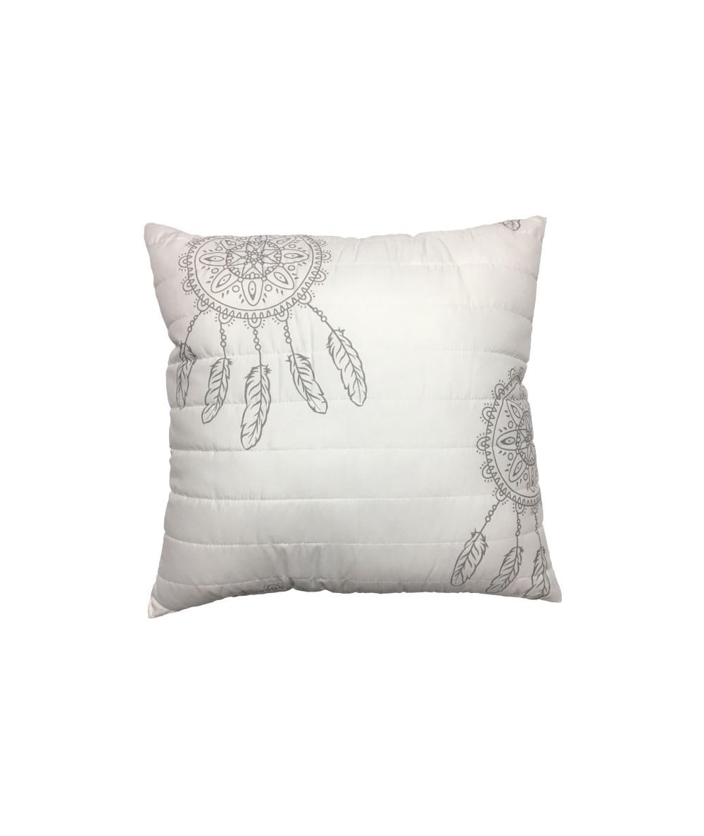 Poduszka Vege Home pikowana 50x50 Dream biała