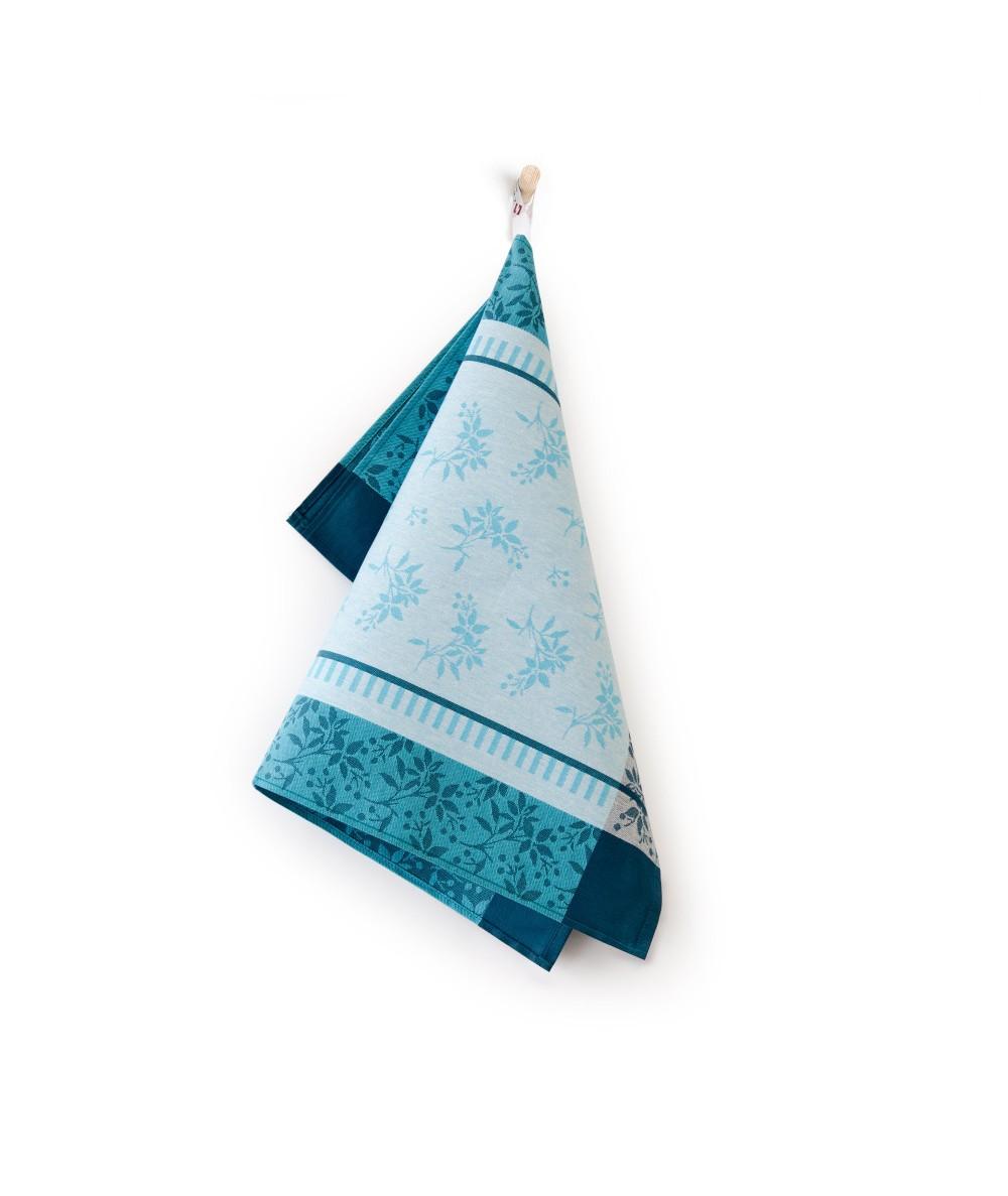 Ścierka Zwoltex Jarzębina bawełna 50x70 turkusowa