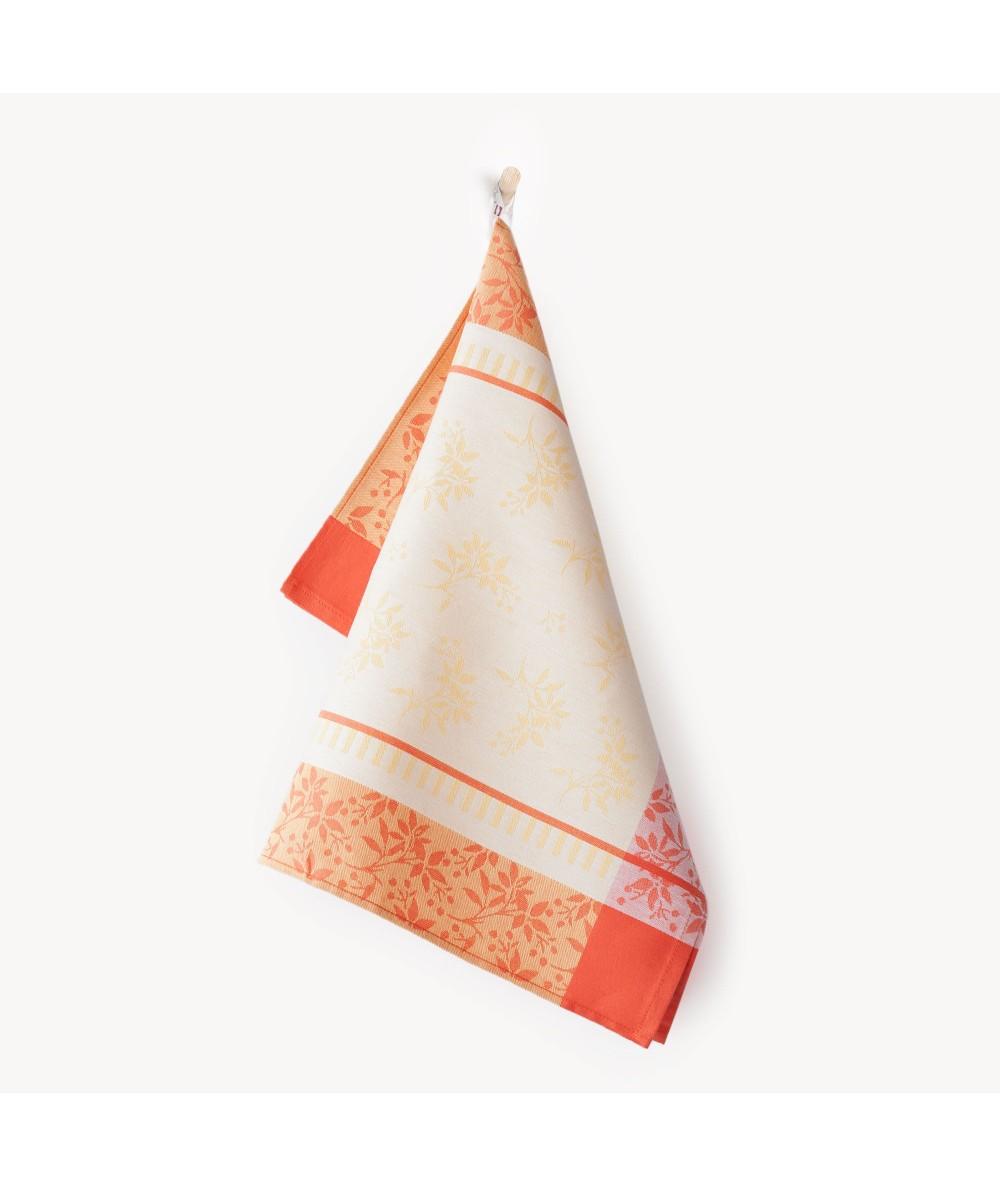 Ścierka Zwoltex Jarzębina bawełna 50x70 pomarańczowa