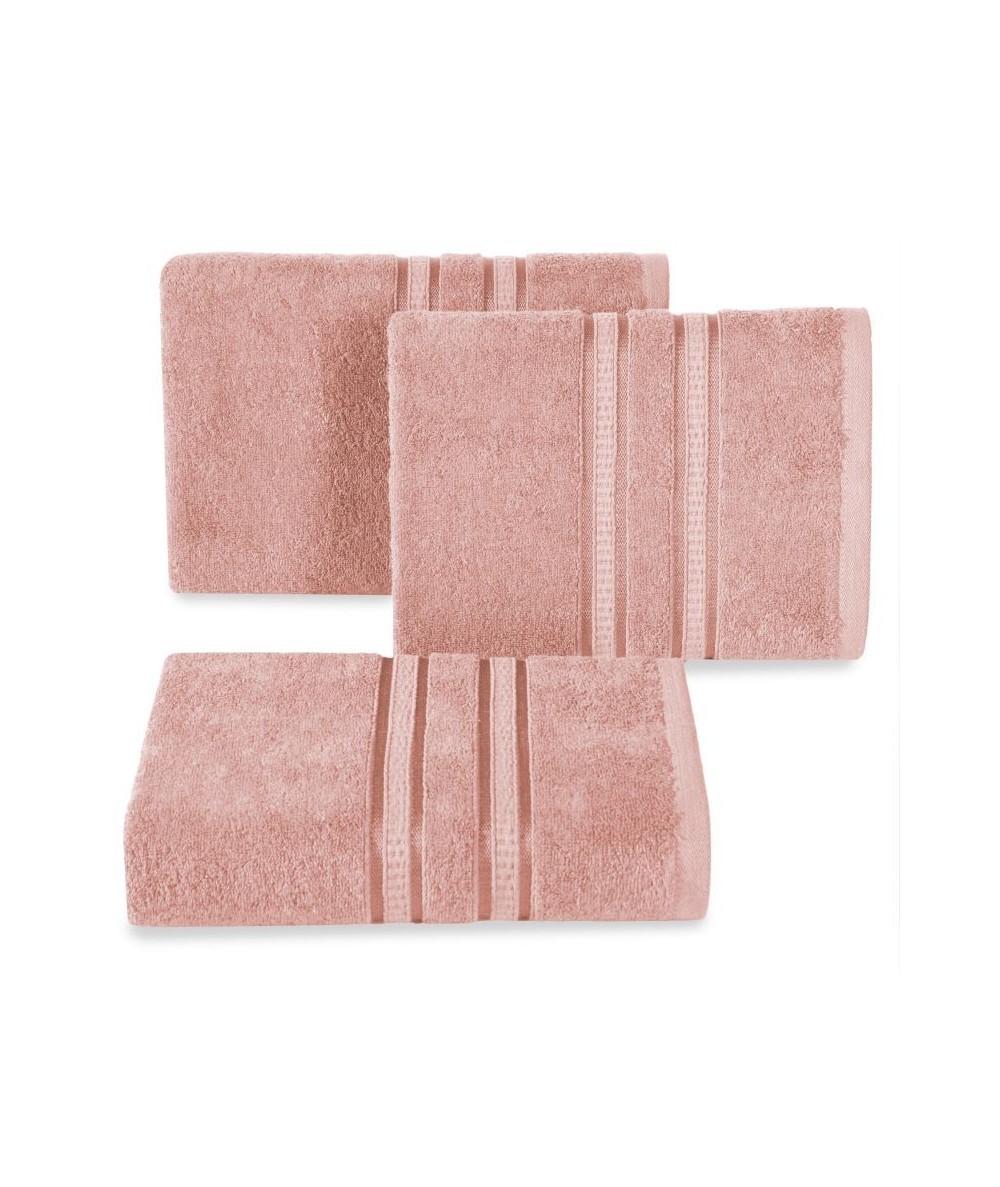 Ręcznik bambus Mila 50x90 jasnoróżowy