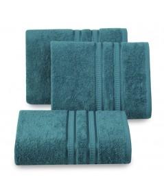 Ręcznik bambus Mila 50x90 niebieski