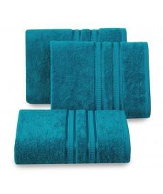 Ręcznik bambus Mila 50x90 turkusowy