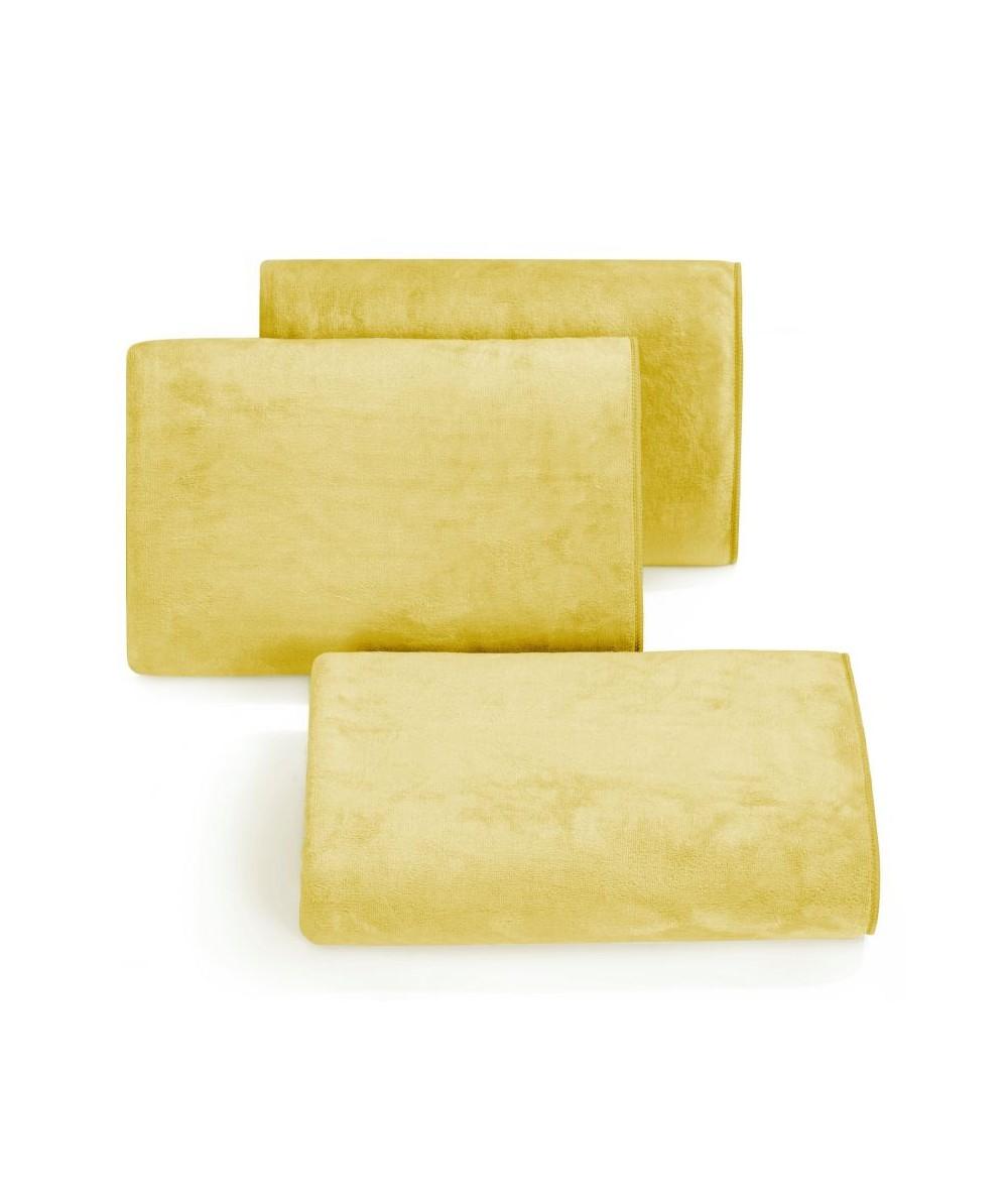 Ręcznik mikrofibra Amy 70x140 musztardowy