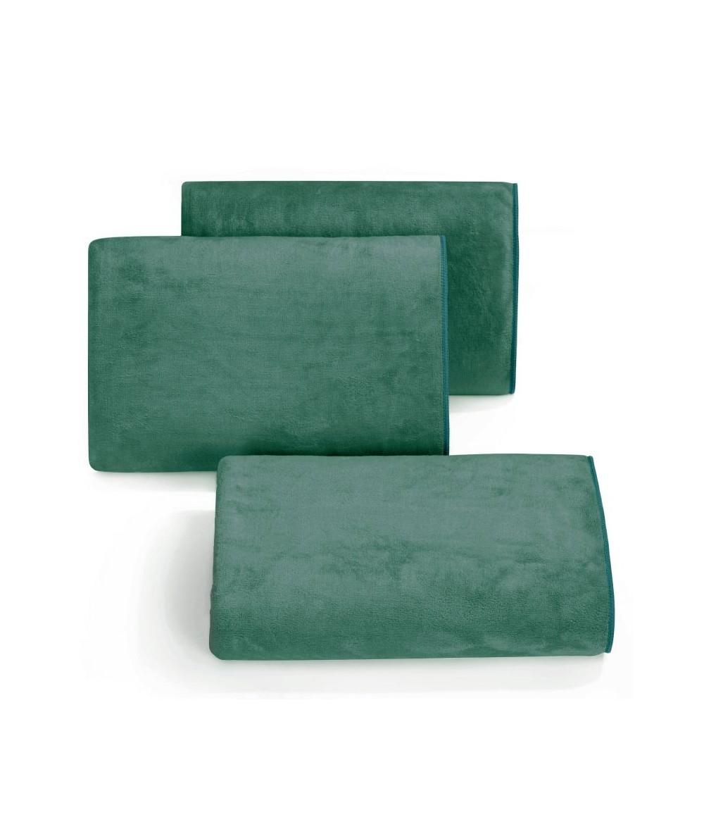 Ręcznik mikrofibra Amy 50x90 ciemnozielony