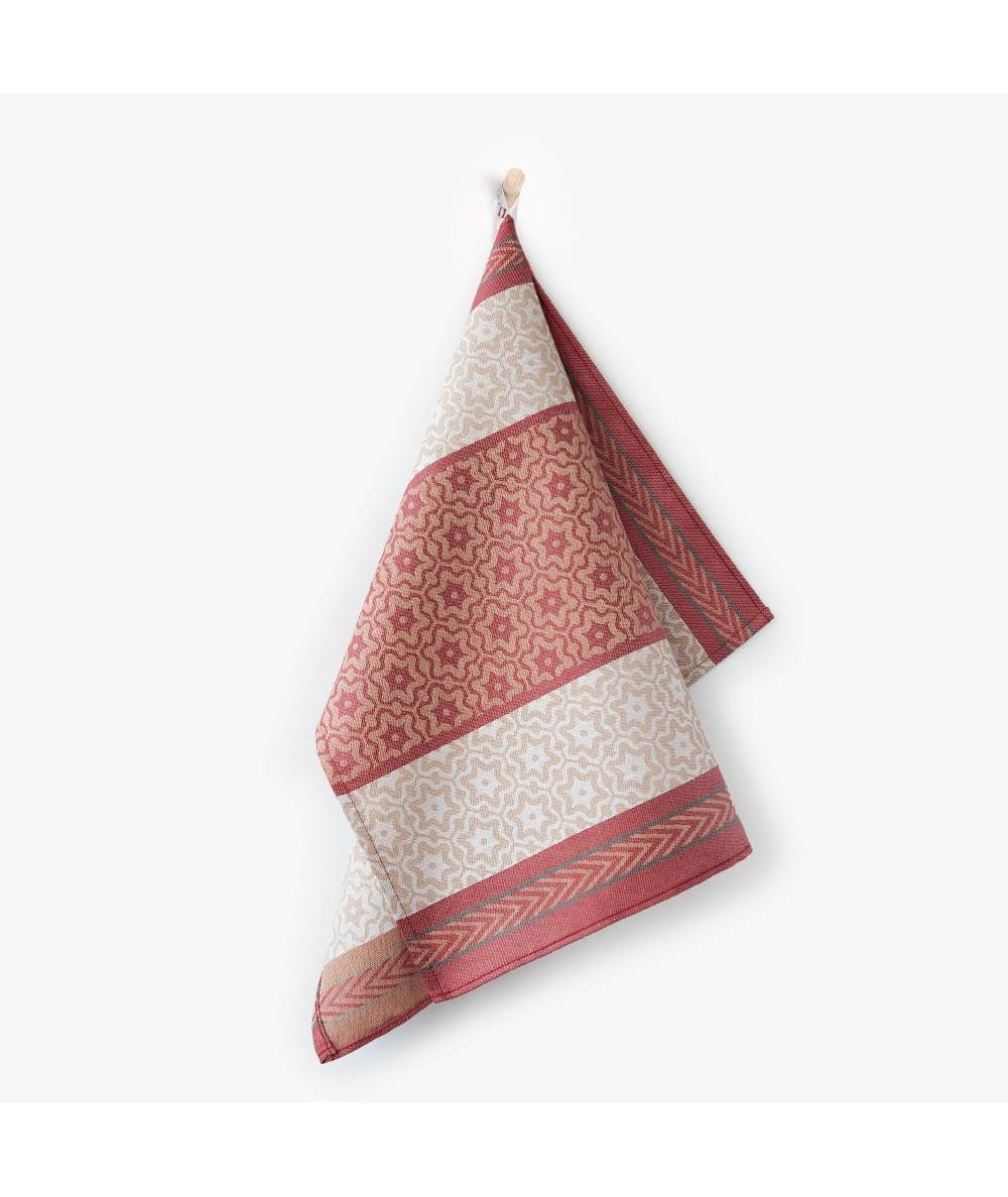 Ścierka Zwoltex Marsala bawełna 50x70 bordowa