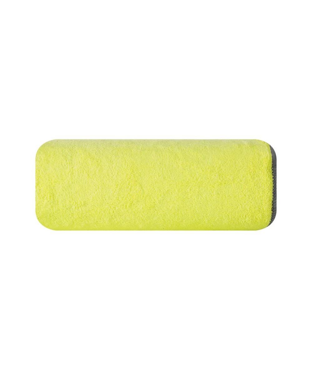 Ręcznik mikrofibra Iga 80x160 limonkowy