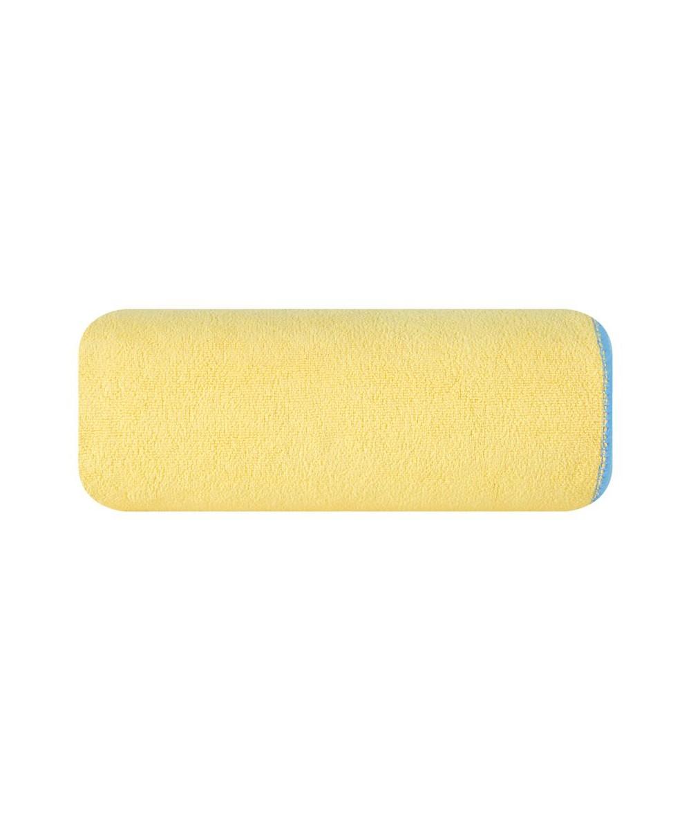 Ręcznik mikrofibra Iga 80x160 żółty