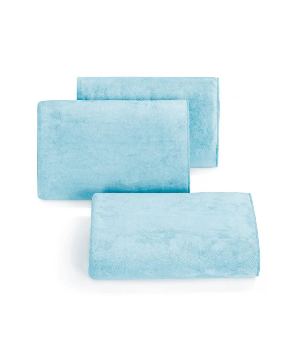 Ręcznik mikrofibra Amy 70x140 niebieski