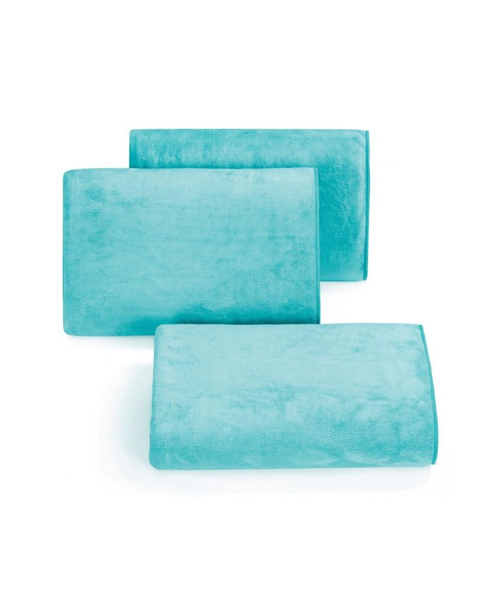 Ręcznik mikrofibra Amy 30x30 turkusowy