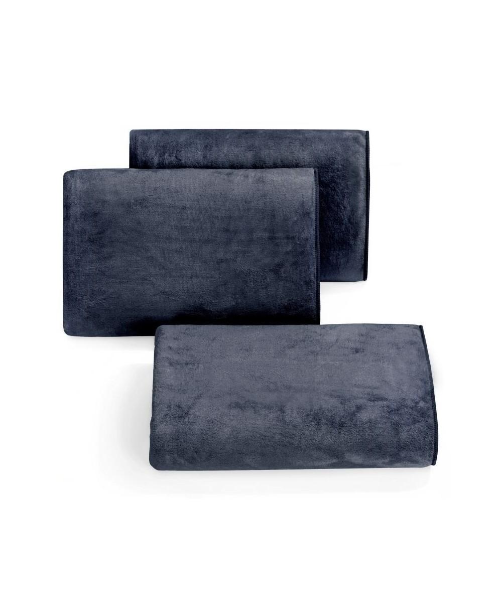 Ręcznik mikrofibra Amy 70x140 czarny
