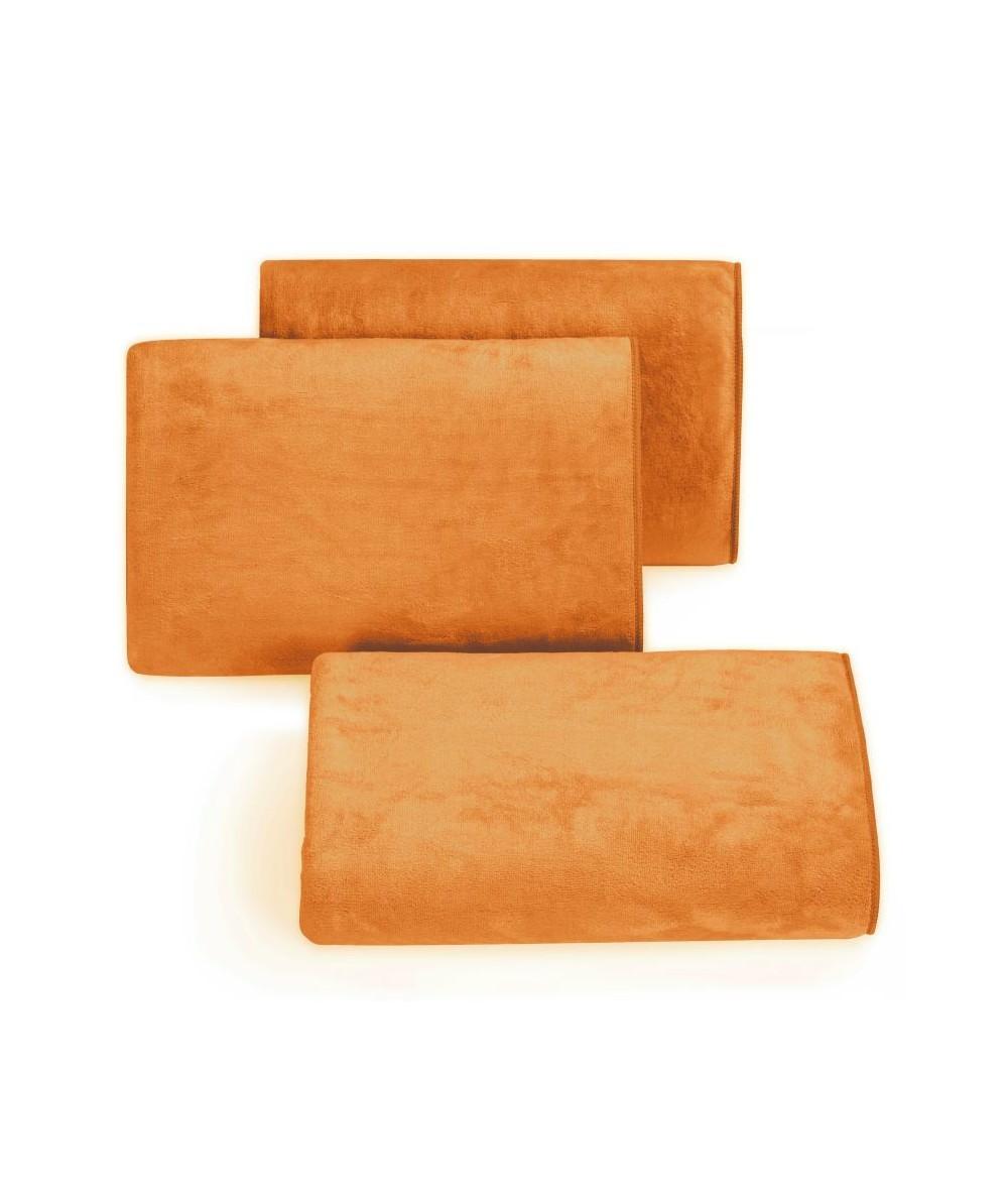 Ręcznik mikrofibra Amy 70x140 jasnopomarańczowy