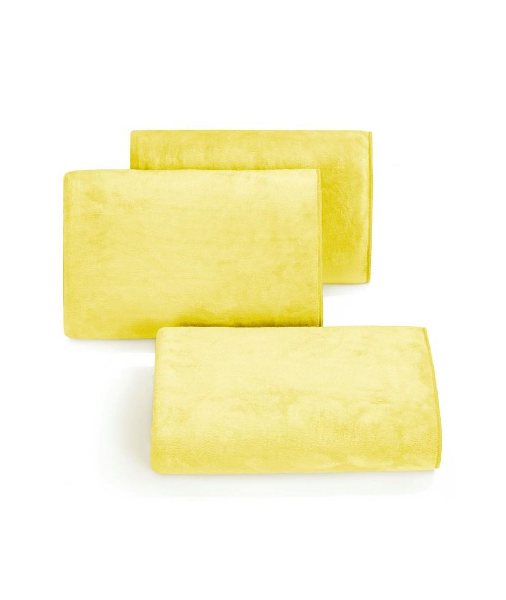Ręcznik mikrofibra Amy 50x90 żółty