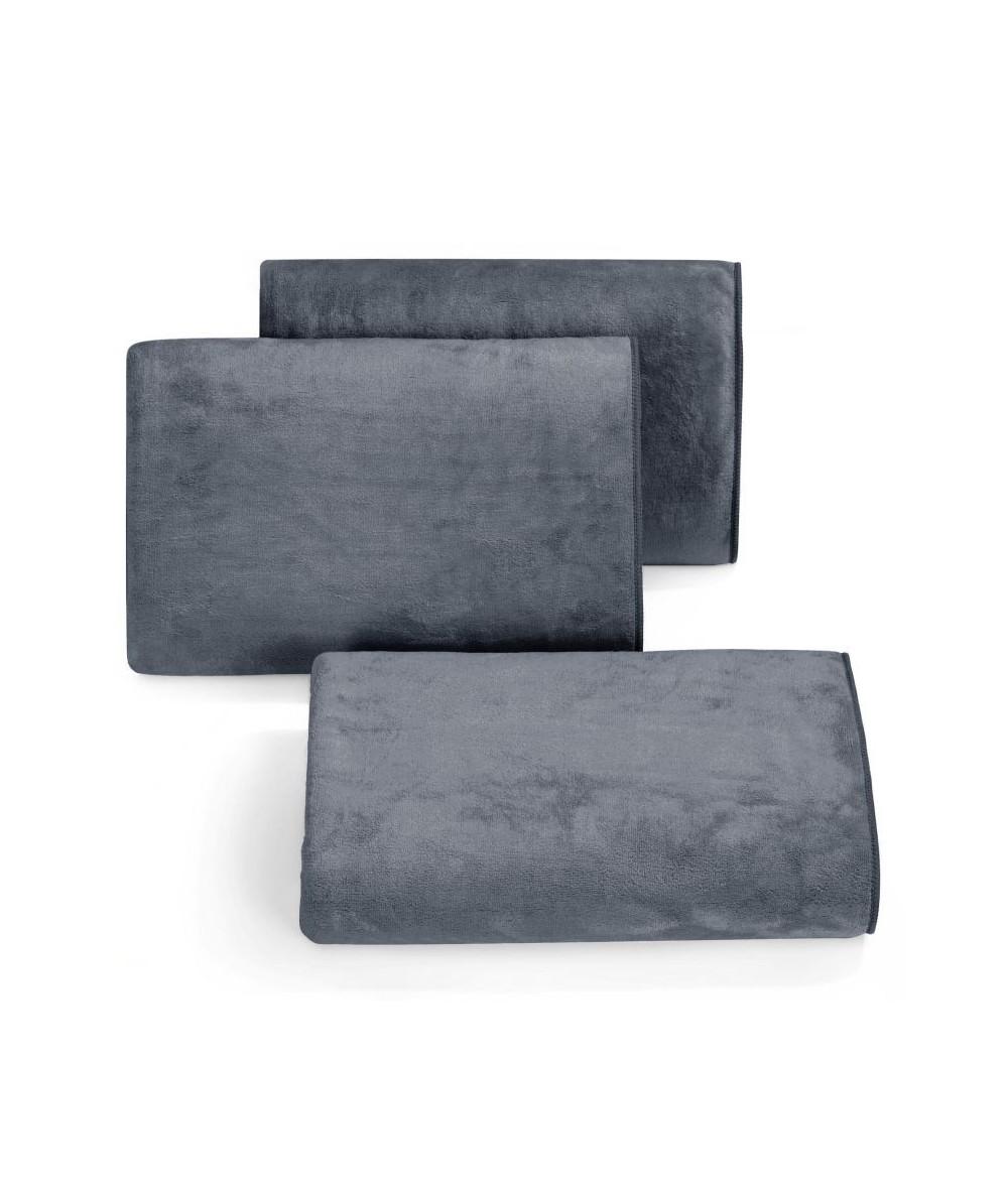 Ręcznik mikrofibra Amy 70x140 grafitowy