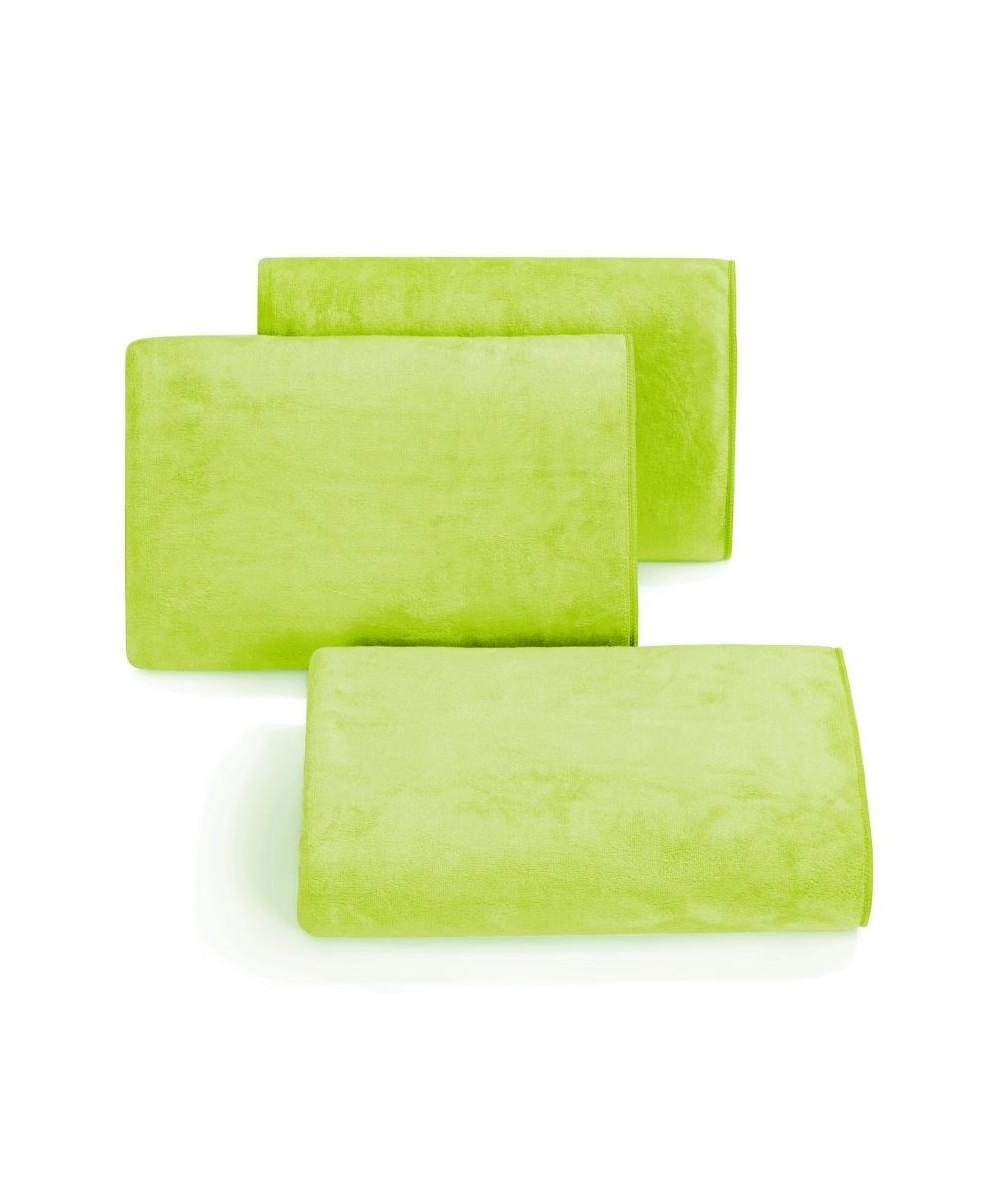 Ręcznik mikrofibra Amy 50x90 limonka