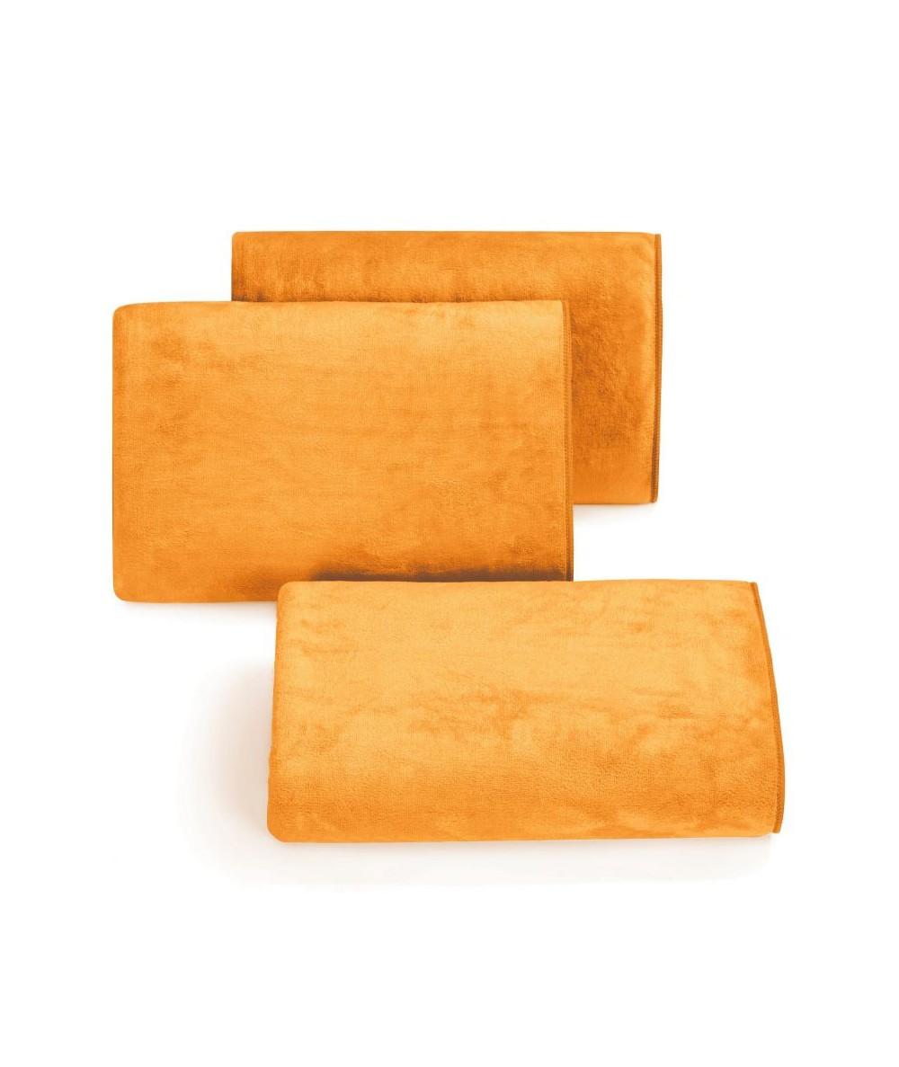 Ręcznik mikrofibra Amy 30x30 pomarańczowy