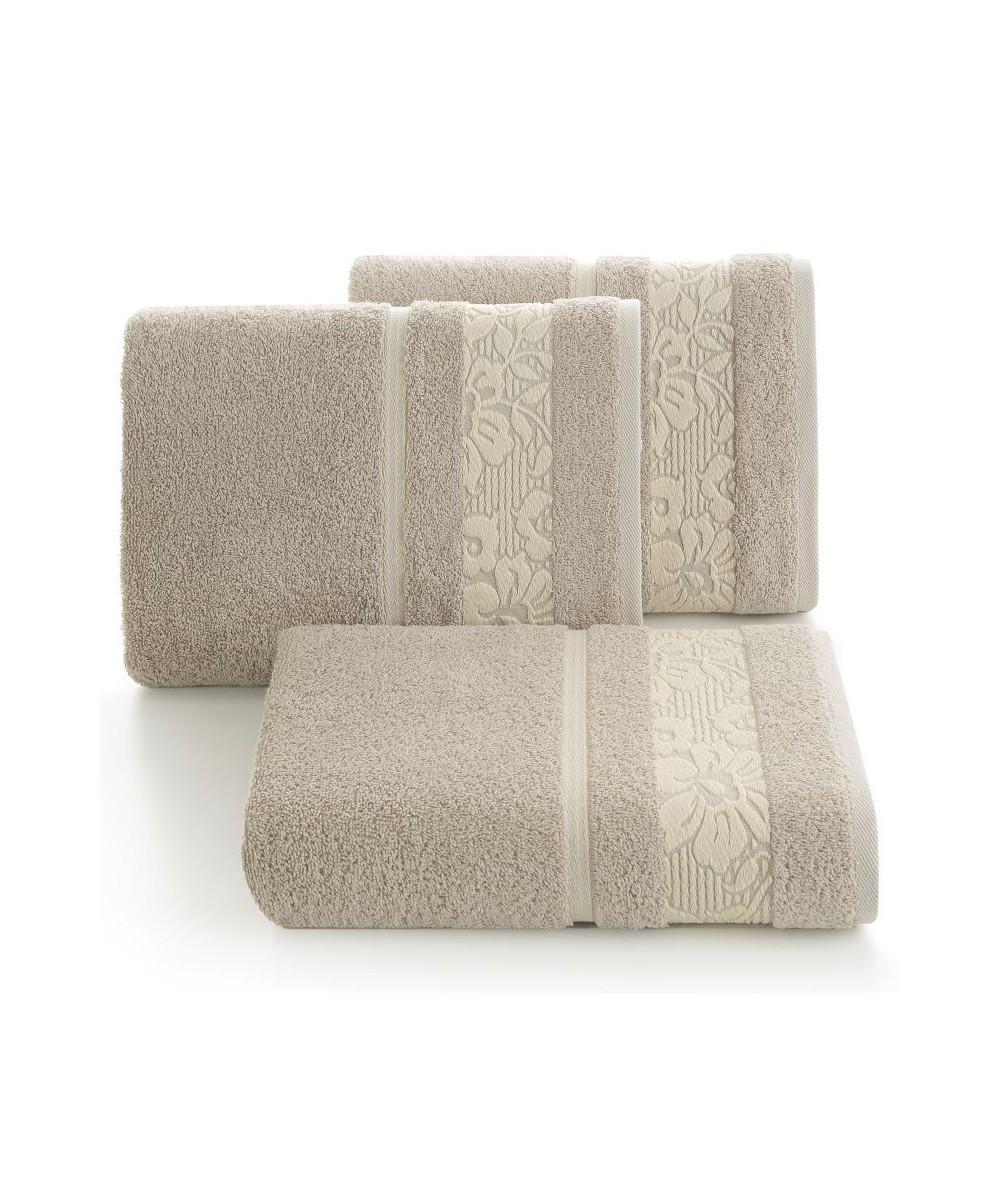 Ręcznik bawełna Sylwia 50x90 beżowy