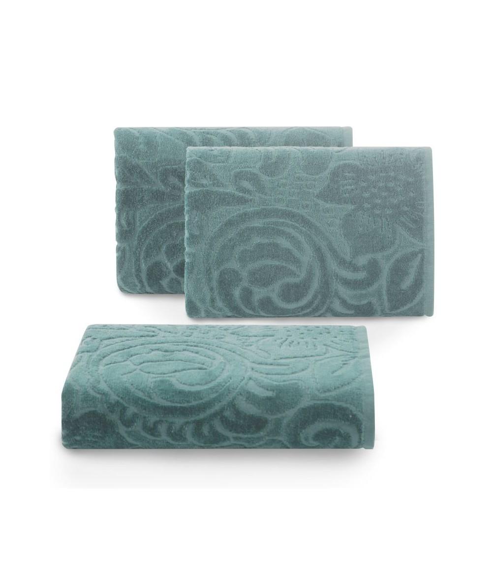Ręcznik bawełna Kalina 70x140 mietowy