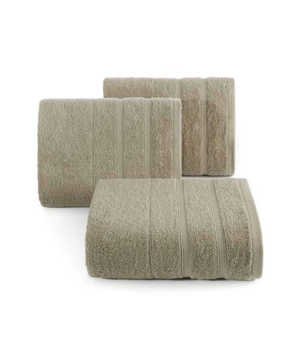 Ręcznik bawełna Koli 100x150 jasnobrązowy