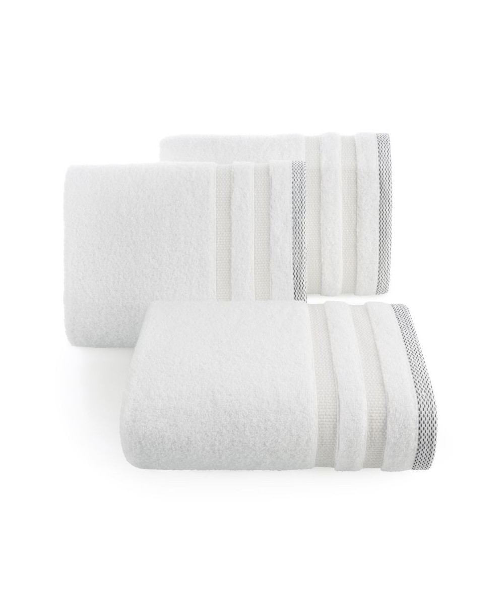 Ręcznik bawełna Riki 70x140 biały