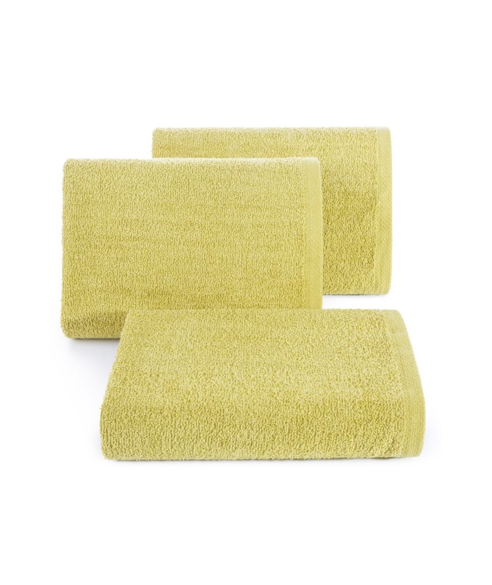 Ręcznik bawełna Gładki I 70x140 musztardowy