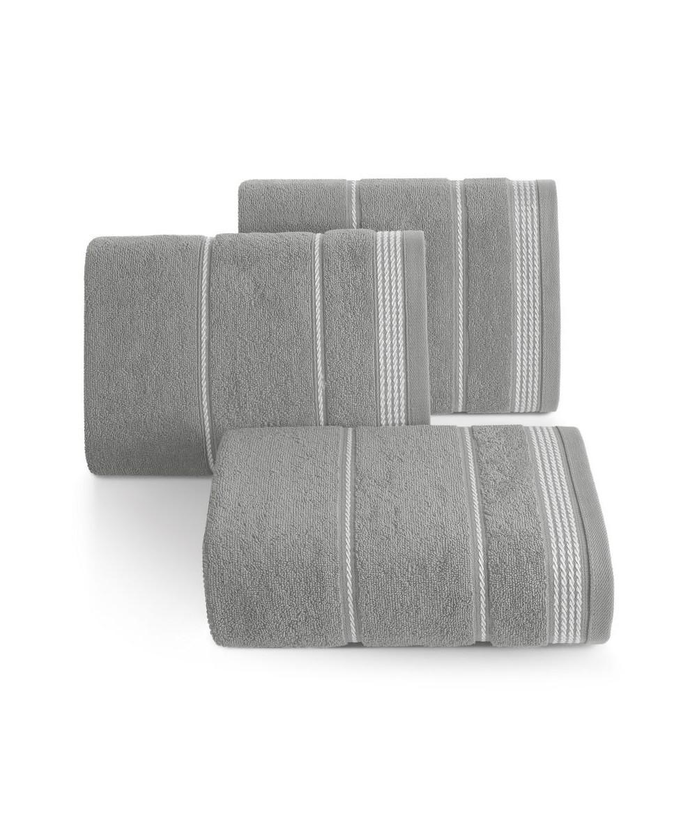 Ręcznik bawełna Mira 50x90 popielaty