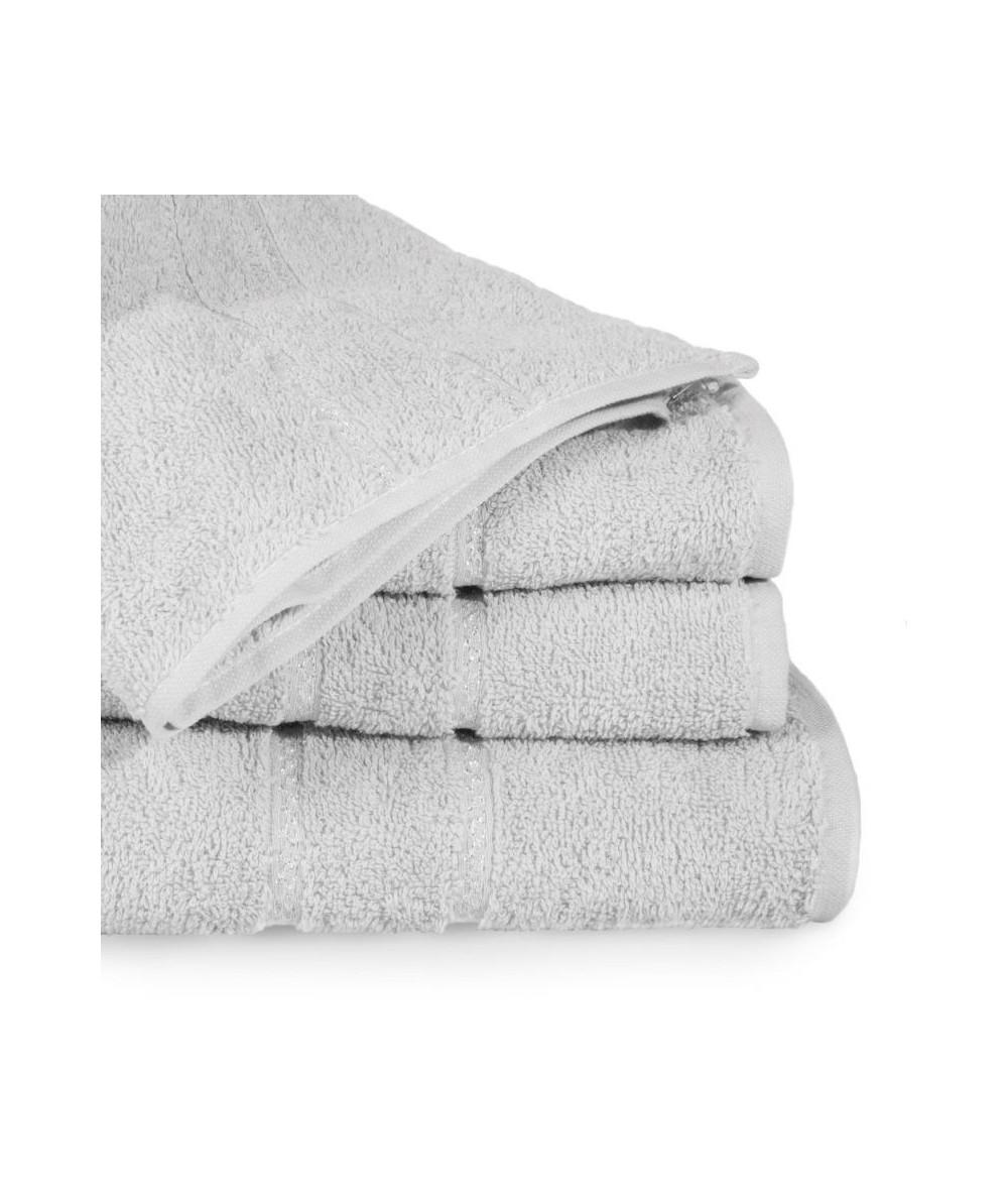 Ręcznik bawełna Mel 70x140 srebrny