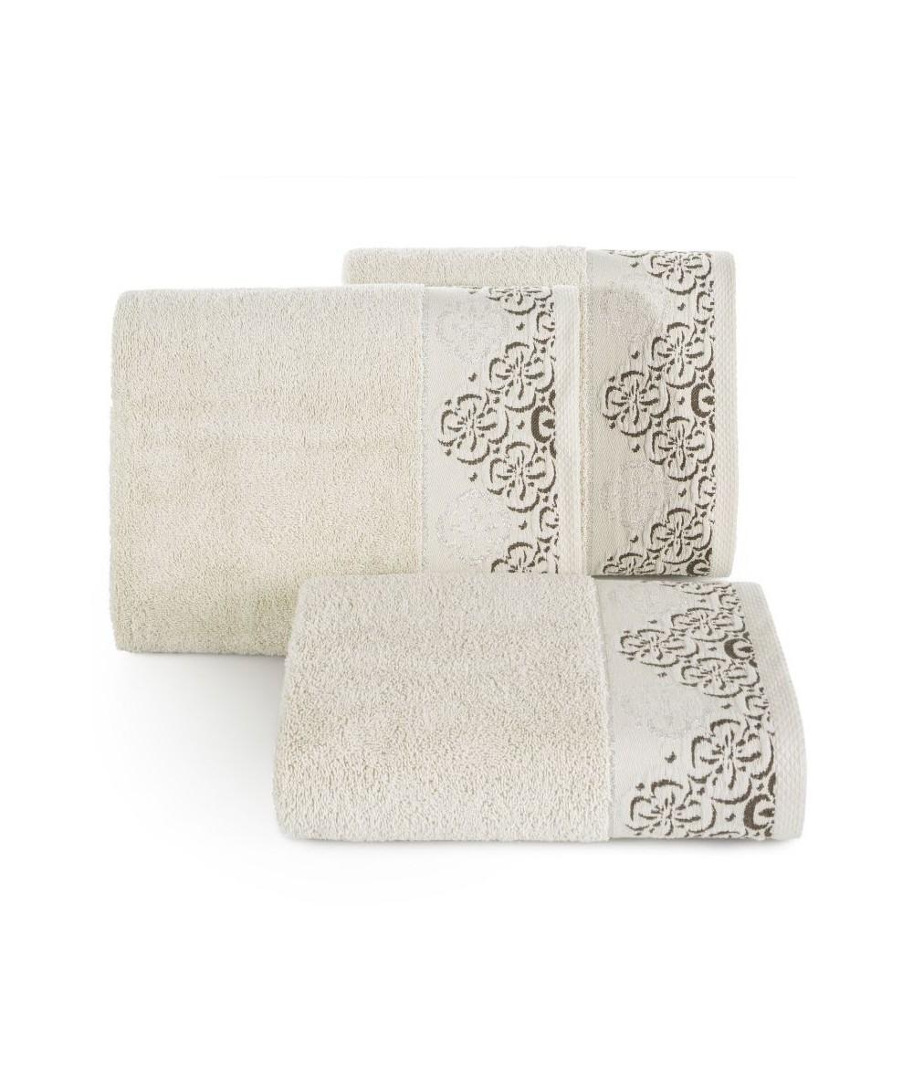 Ręcznik bawełna Iwona 70x140 beżowy