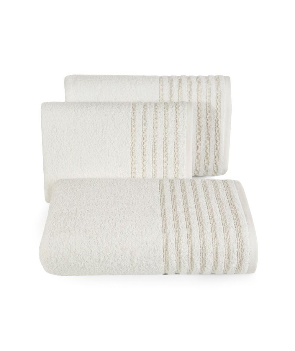 Ręcznik bawełna Paula 50x90 kremowy