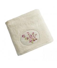 Ręcznik bawełna Garden II 50x90 kremowy