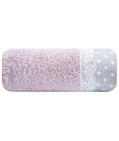 Ręcznik bawełna Sofia II 70x140 liliowy