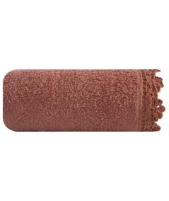 Ręcznik bawełna Angela 70x140 morelowy