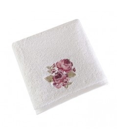 Ręcznik bawełna Garden 70x140 biały