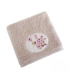 Ręcznik bawełna Garden II 70x140 beżowy