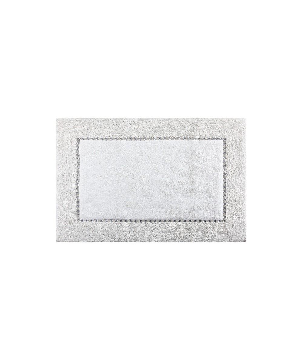 Dywanik bawełna z kryształkami Chic 75x150 kremowy