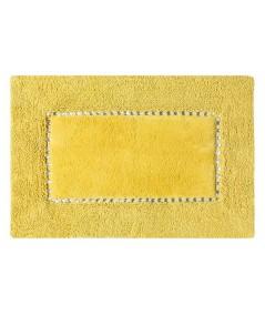 Dywanik bawełna z kryształkami Chic 75x150 musztardowy