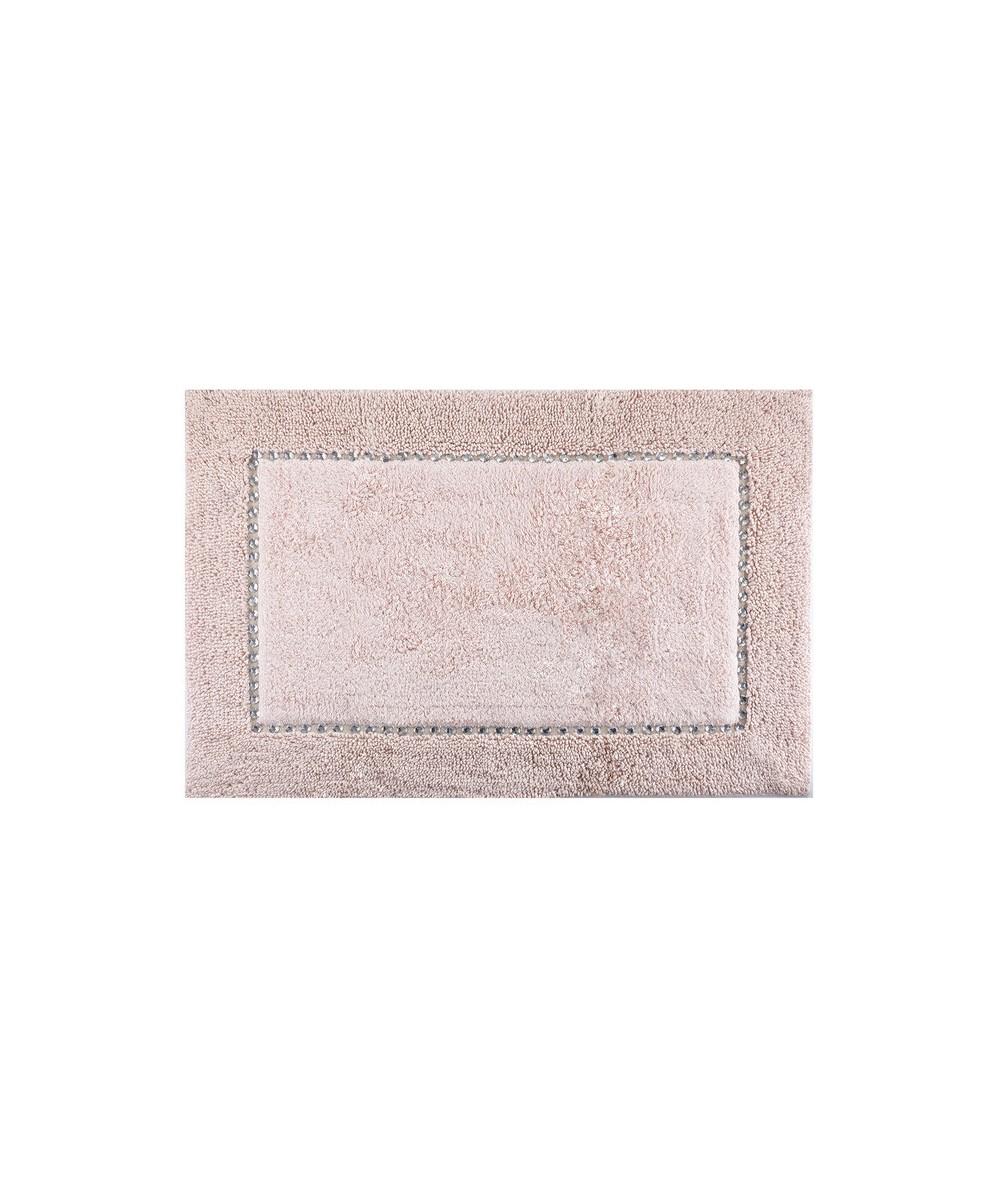 Dywanik bawełna z kryształkami Chic 75x150 różowy