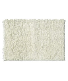 Dywanik z frędzlami Shaggy 60x90 biały