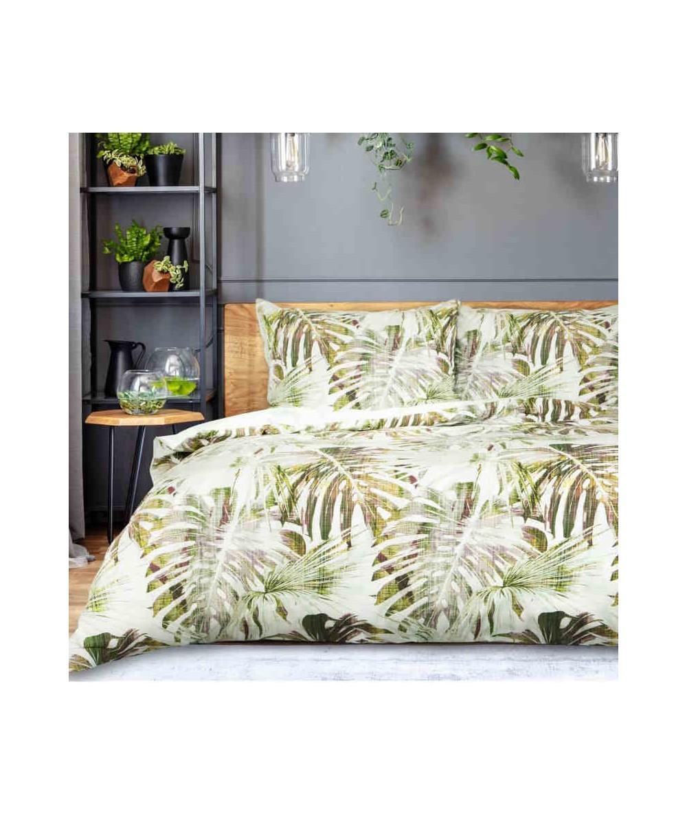 Pościel bawełna Enrica 160x200 + 2x70x80 z zamkiem
