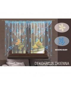 Firana Regina 400x145 kremowa