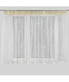 Firana Eleonora 2 400x145 biała/kremowa