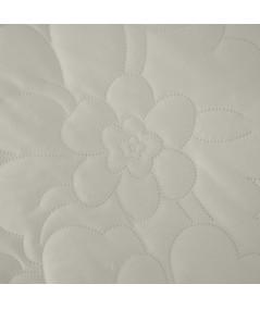 Narzuta welwetowa Ariel 4 220x240 kremowa