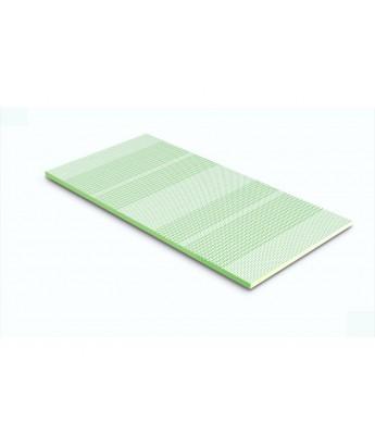 Materac nawierzchniowy Hevea Topper Bio Climalatex 90x200 (Bamboo)